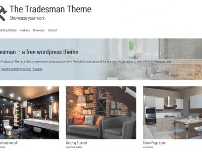 The Tradesman Theme